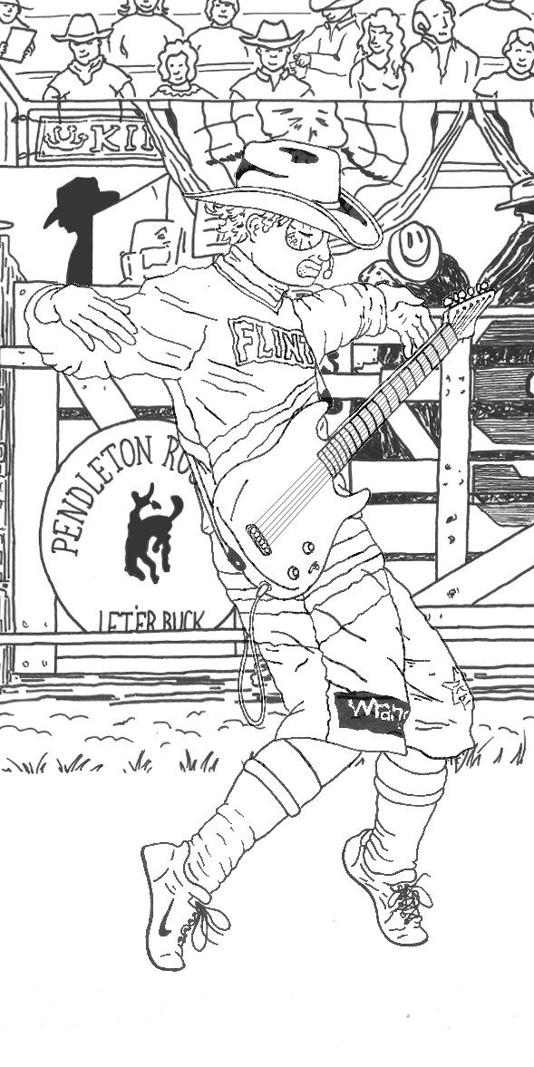 Luxury Rodeo Clown Coloring Pages Vignette - Resume Ideas - namanasa.com